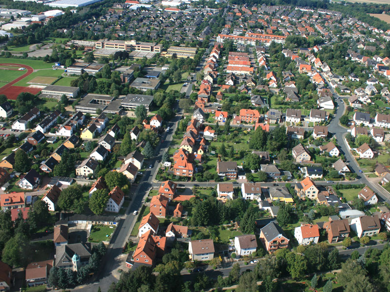 Luftbild Wellweg