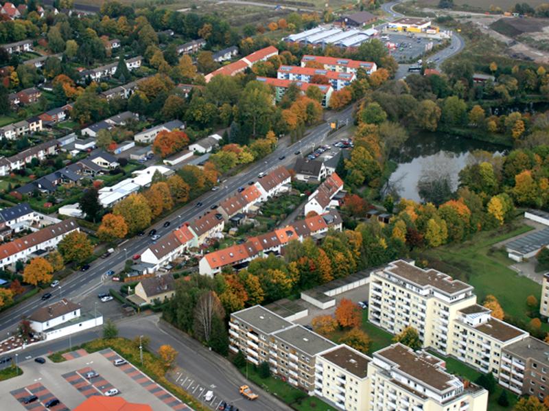 Luftbild Bruchgraben