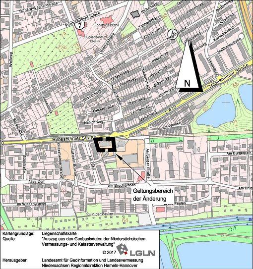 Bebauungsplan Hildesheimer Straße