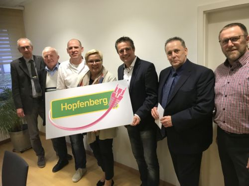 Breitbandausbau Hopfenberg