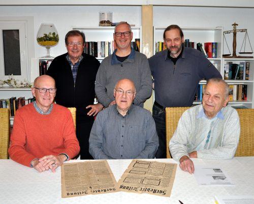 Sarstedter Geschichtskreis Gruppenfoto