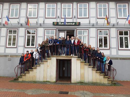 Gruppenfoto - Klasse 8 Gysar Sarstedt