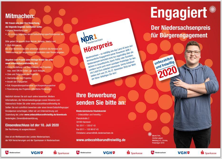 Niedersachsenpreis - Flyer 1