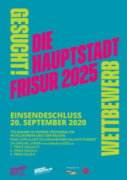 Plakat Kulturhauptstadtfrisur