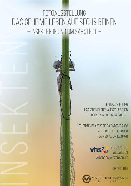 Plakat - Fotoausstellung Maik Kreutzkam