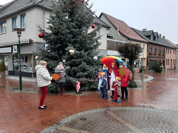 Bild 2 - Sternsinger in Sarstedt, 8.1.2021