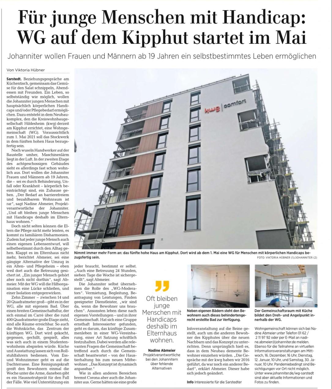 Artikel WG Sarstedt