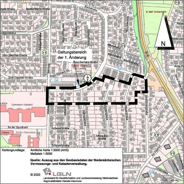 Bebauungsplanes Nr. 14 Wellweg Drahtseilbahn